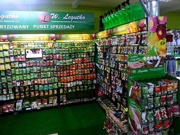 Shop in Shop w Sklep Ogrodnik